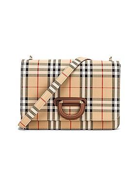 Medium D Ring Crossbody Bag