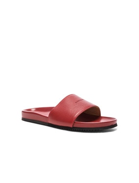 Classic Leather Slide Sandals