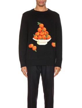 Pyramid of Oranges Pullover