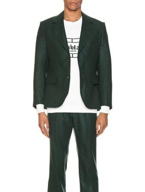 Midnight Single Breasted Jacket
