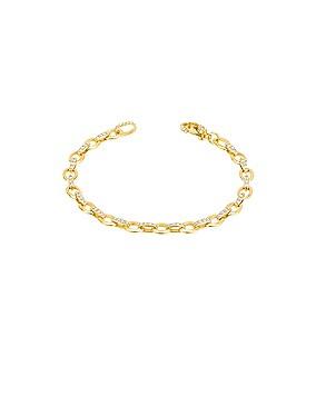 Diamond Linked Bracelet