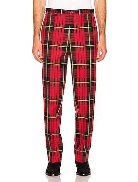 Classic Plaid Trousers