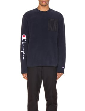 Sleeve Script Sweatshirt