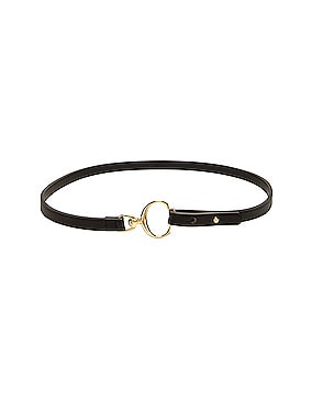 Leather C Belt