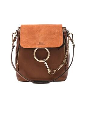 Small Faye Backpack Calfskin & Suede