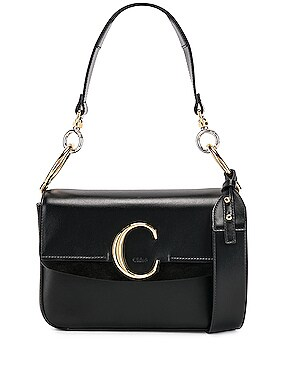 Small Chloe C Double Carry Bag