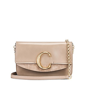 C Chain Clutch Bag