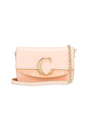 C Chain Clutch Bag