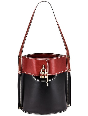 Aby Bicolor Bucket Bag