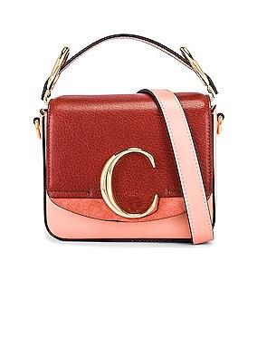Mini C Tri Color Box Bag