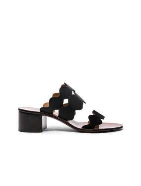 Lauren Leather & Suede Sandals