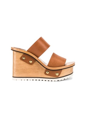Two Strap Wedge