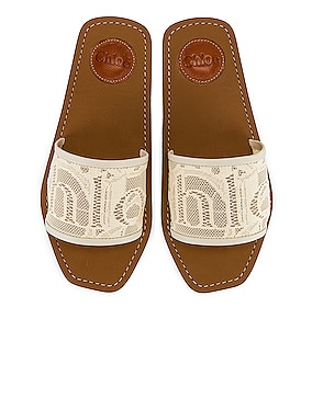 Woody Lace Slides
