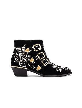Susanna Velvet Ankle Boots