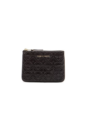 Small Star Embossed Pouch