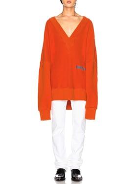 Logo Knit Pullover