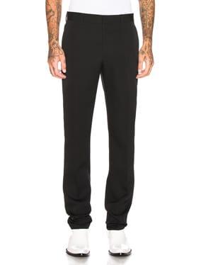 Wool Gabardine Uniform Pant