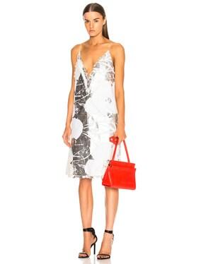 Flower Print Slip Dress