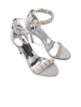 Camelle Diamond & Swarovski Embellished Sandals