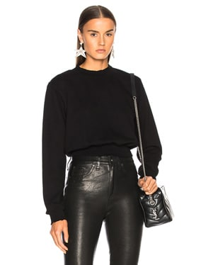Milan Cropped Sweatshirt