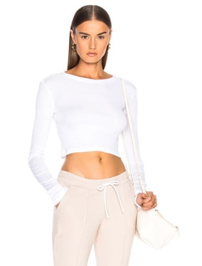 Venice Long Sleeve Crop Tee