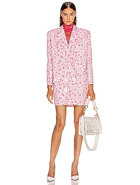 Printed Coat Dress