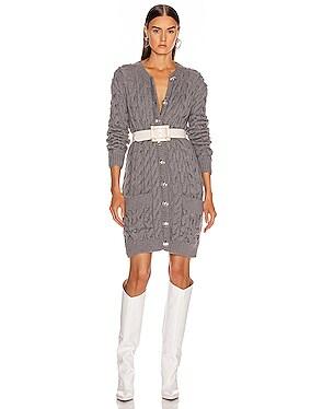 Knit Cardigan Dress