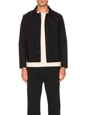Laced Bonded Worker Jacket