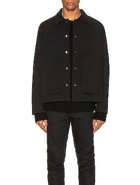 Line Stitch Worker Jacket