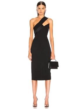 Asymmetrical One Shoulder Dress