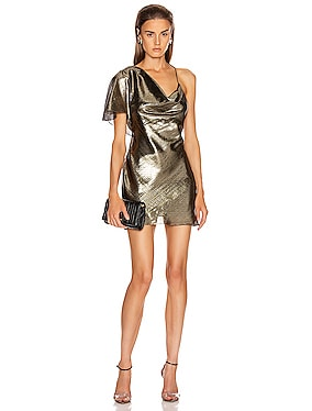 Single Sleeved Mini Dress