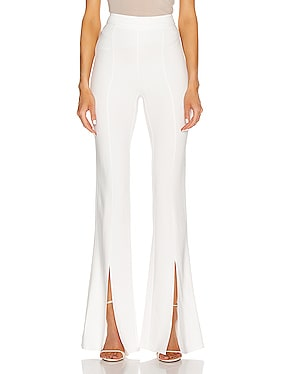 High Waisted Slim Flare Pant