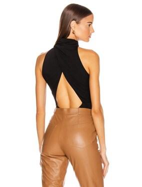 High Neck Sleeveless Bodysuit
