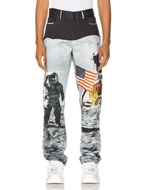 Moon Landings Straight Jean
