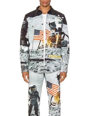 Moon Landings Western Shirt Jacket