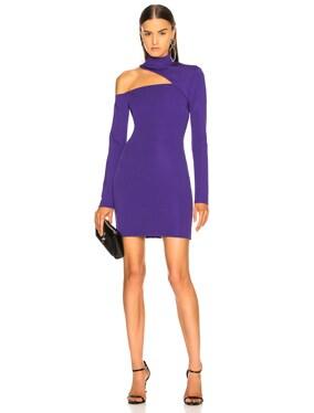 Cutout Jersey Dress