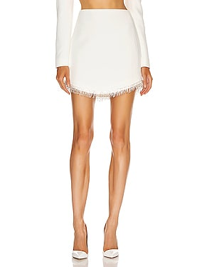 Crystal Chain Mini Skirt