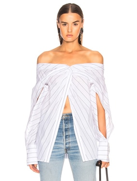 Reversible Twist Yoke Shirt