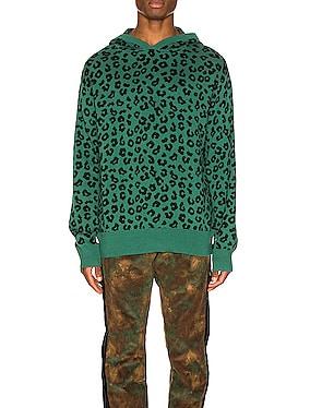 Jungle Leopard Sweater Hoodie