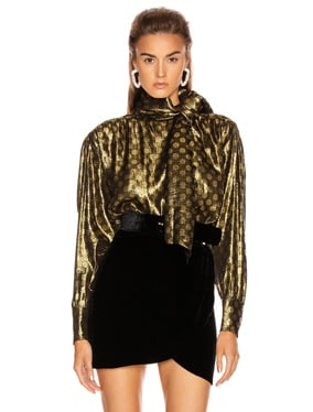 Kelly Lurex Top