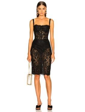 Lace Bustier Dress