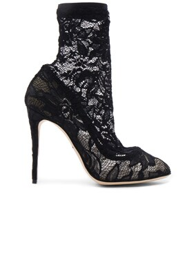 Stretch Lace Booties