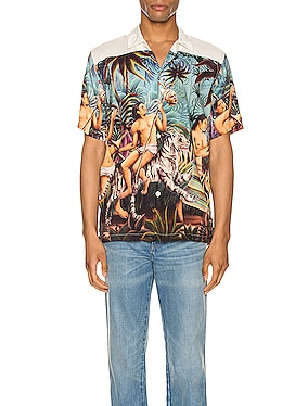 Who Looks Outside Aloha Shirt