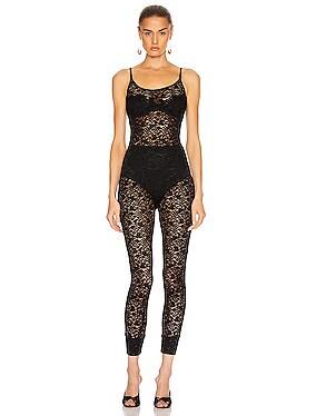 Lace Strappy Jumpsuit