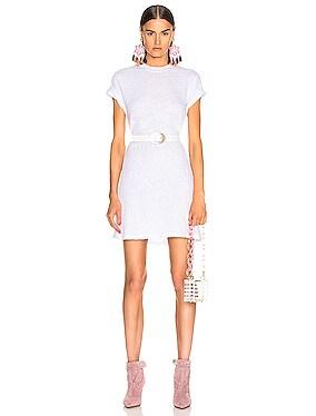 Short Sleeve Crew Mini Dress