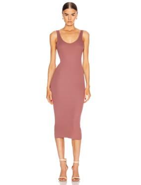 for FWRD Rib Tank Midi Dress