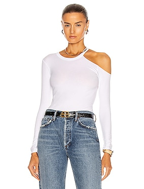 Exposed Shoulder Top