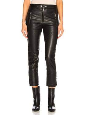 Leather Aya Pant