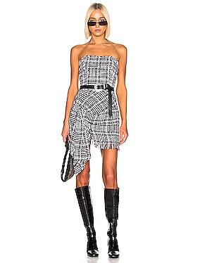Tweed Bustier Dress