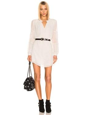 Shirred Mock Dress
